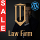 Responsive Law Firm Website Template - ThemeForest Item for Sale