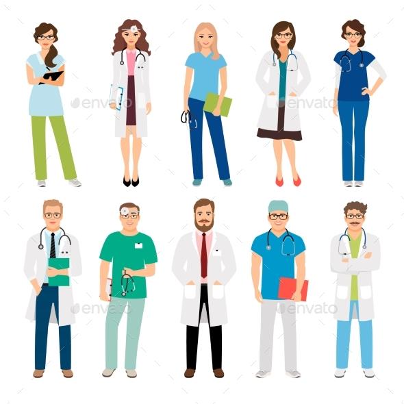 Healthcare Medical Team Workers - Health/Medicine Conceptual