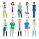 Healthcare Medical Team Workers - GraphicRiver Item for Sale