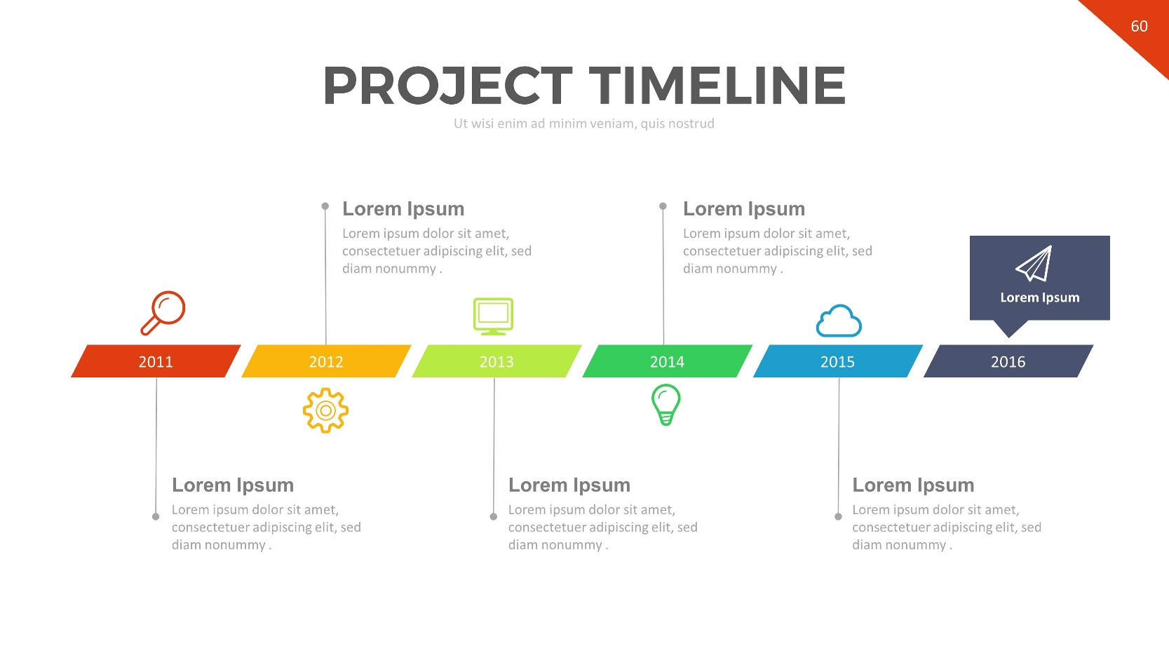 project timeline template powerpoint free 28 images