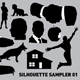 Silhouette sampler 01 - GraphicRiver Item for Sale