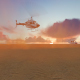 Collapsing helicopter - VideoHive Item for Sale
