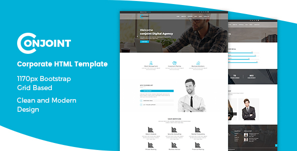 Conjoint – Corporate HTML Template