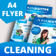 Eco - Cleaning Service A4 Flyer with 2 Layout - GraphicRiver Item for Sale