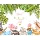 Spa Tropical Frame - GraphicRiver Item for Sale