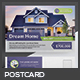 Real Estate Postcard - GraphicRiver Item for Sale