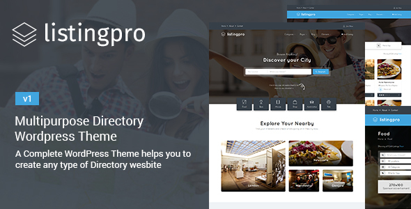ListingPro – Multipurpose Directory Theme