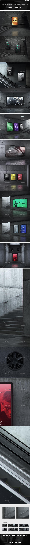 Urban Underground Lightbox / Billboard Mock-Ups - Posters Print