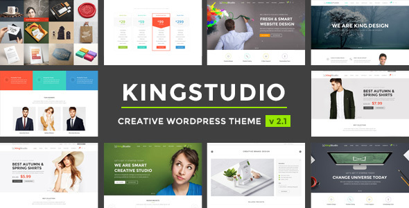 Kingstudio - Studio WordPress Theme - Corporate WordPress