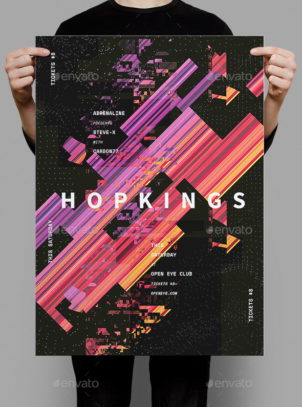 Hopkings Flyer / Poster - Events Flyers