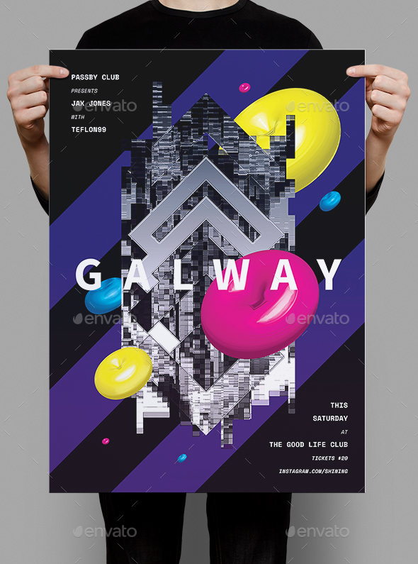 Galway Flyer / Poster - Events Flyers