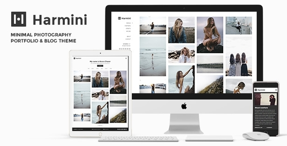 Harmini Photography – Minimal Photography WordPress