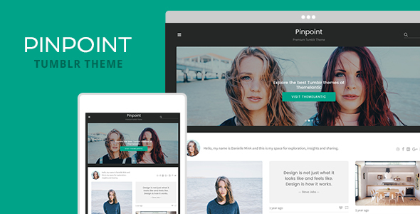 Pinpoint Tumblr Theme - Tumblr Blogging