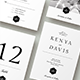 Wedding Invitation Suite - Leganto - GraphicRiver Item for Sale