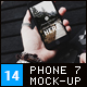 Phone 7 Mock-Up's - GraphicRiver Item for Sale