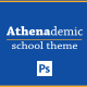 Athenademic School PSDs - ThemeForest Item for Sale