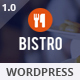 Bistro - Food & Restaurant WordPress - ThemeForest Item for Sale