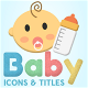 Baby Motion Icons & Titles - VideoHive Item for Sale
