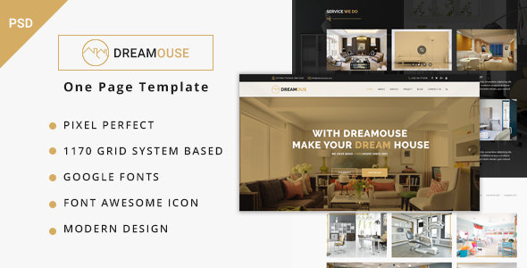 dreamouse interior design decor psd template by iqadv themeforest. Black Bedroom Furniture Sets. Home Design Ideas