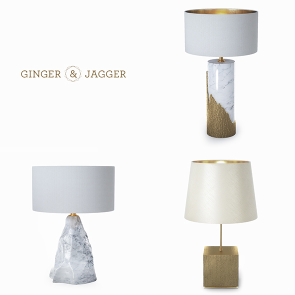 Ginger & Jagger lamps - 3DOcean Item for Sale