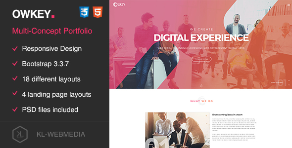 Owkey – Multi-Concept HTML5 template