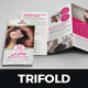 Hair Salon Style Trifold Brochure Design - GraphicRiver Item for Sale