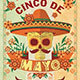 Cinco de Mayo Retro Vintage Flyer - GraphicRiver Item for Sale