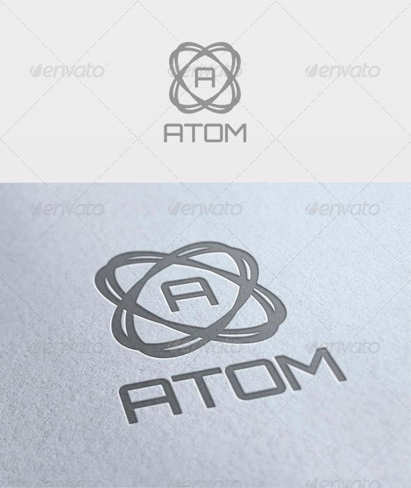 Atom Logo - Letters Logo Templates