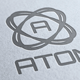 Atom Logo - GraphicRiver Item for Sale