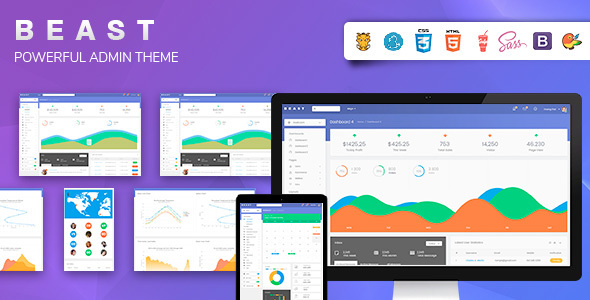 Image of Bootstrap 4 Admin Template