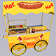 Sausage wagon ( Full textures & editor )