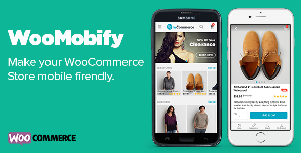 WooMobify - WooCommerce Mobile Theme