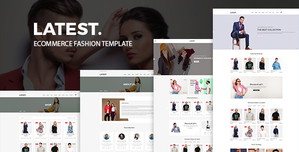 Latest - eCommerce Fashion Template - Fashion Retail