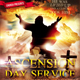 Ascension Day Church Flyer - GraphicRiver Item for Sale