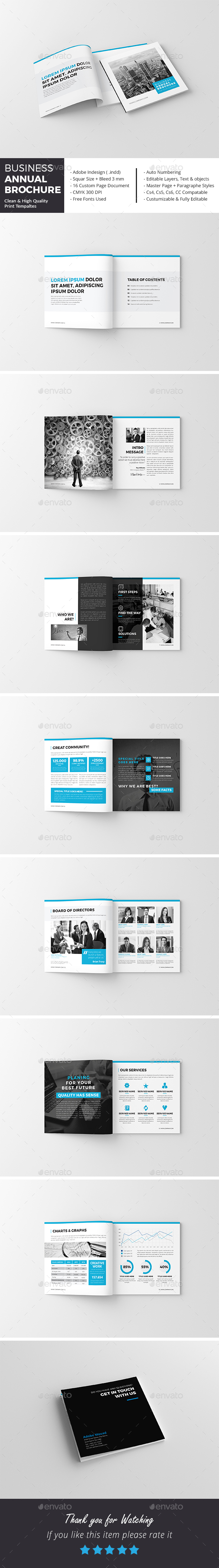 Business Annual Brochure - Corporate Brochures