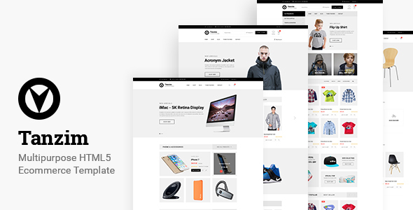 Tanzim - eCommerce HTML5 Template - Shopping Retail