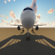 Airplane at Airport - VideoHive Item for Sale