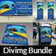 Diving Advertising Bundle Vol.2 - GraphicRiver Item for Sale