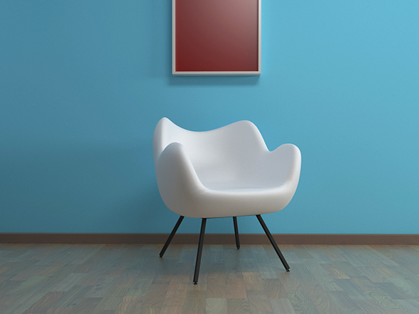 Modern chair - 3DOcean Item for Sale