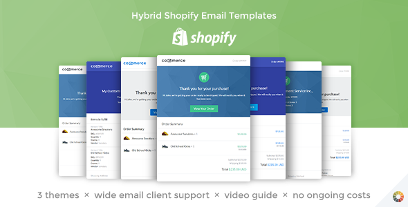 Lil Commerce - Hybrid Shopify Email Templates