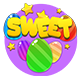 construct 2 sweet match3 game