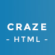 CRAZE - Multipurpose HTML Template - ThemeForest Item for Sale
