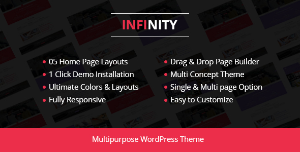 Infinity – Corporate Business WordPress Theme