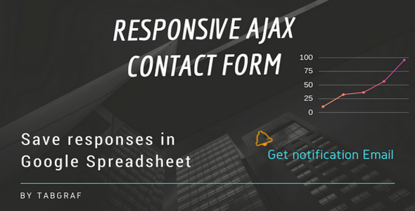 Contact Form to Google Spreadsheet - CodeCanyon Item for Sale