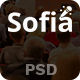 Sofia - One Page Event Conference PSD Template - ThemeForest Item for Sale