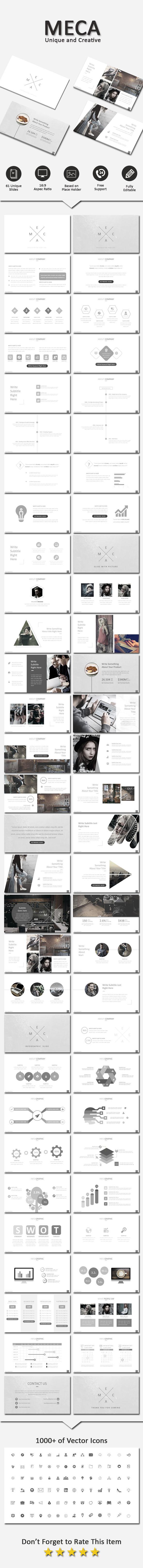 Meca Creative Powerpoint - Business PowerPoint Templates