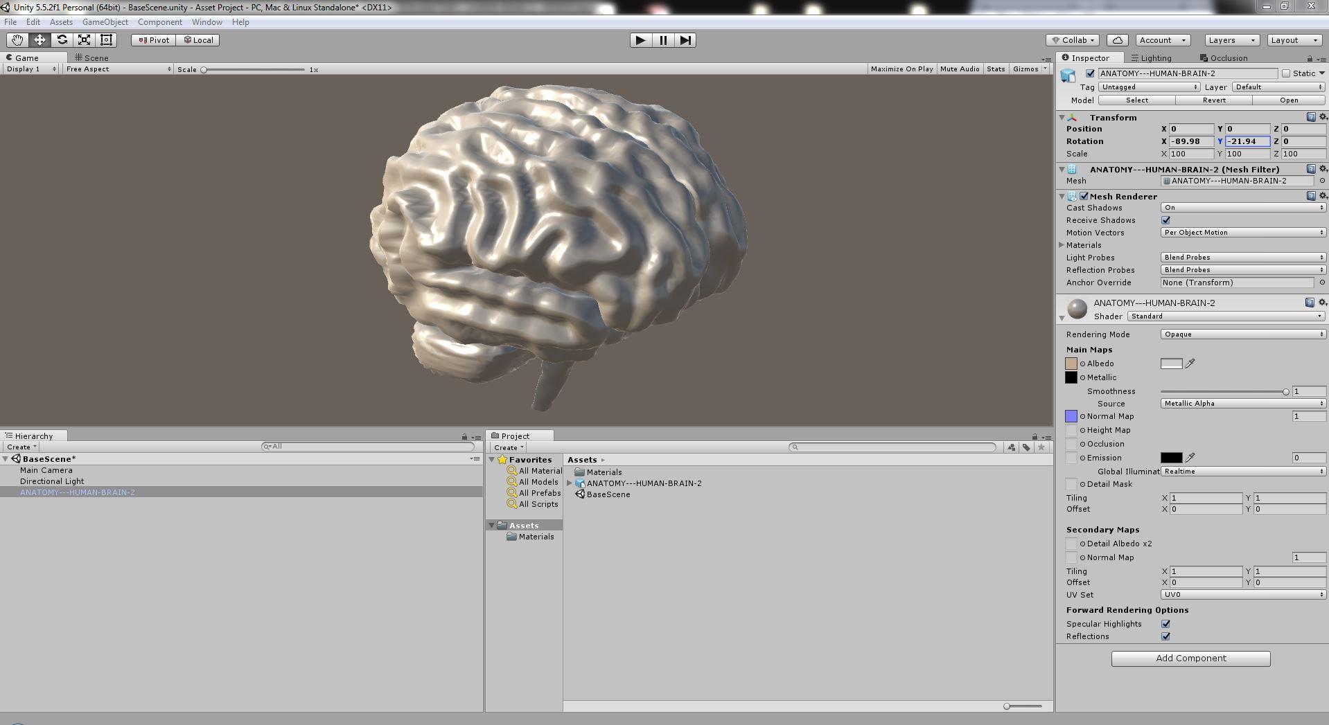 Anatomy - Human Brain 2 by FrancescoMilanese | 3DOcean