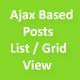 Ajax Custom Posts List and Grid Pro