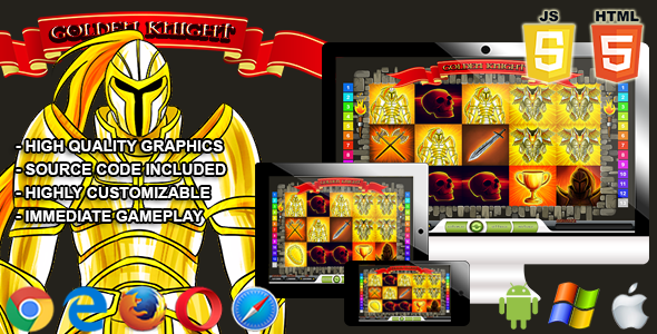 Golden Knight - HTML5 Casino Game - CodeCanyon Item for Sale
