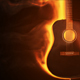 Guitar On Fire - VideoHive Item for Sale